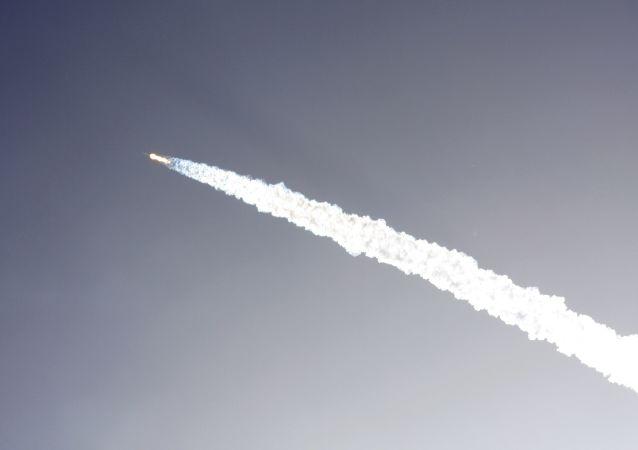 Lançamento de um foguete (imagem referencial)