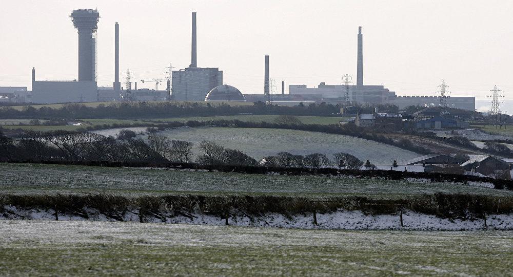 Usina de reprocessamento de material nuclear Sellafield
