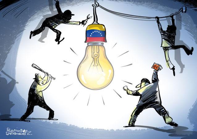 Andando à caça da luz venezuelana