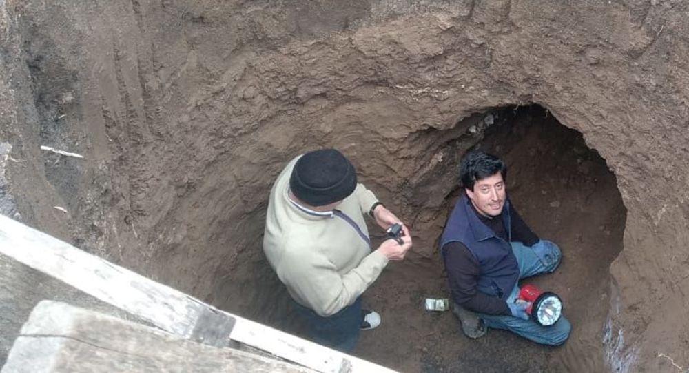 Cova pré-histórica achada em Buenos Aires
