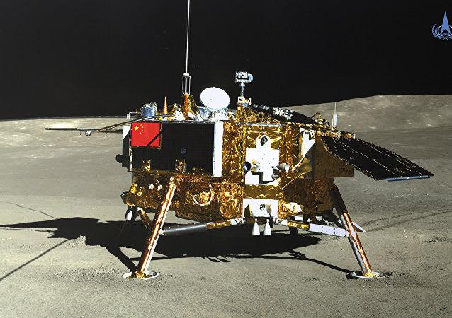 Chang'e 4 na lua, 12/01/2019 - Administração Espacial Nacional da China