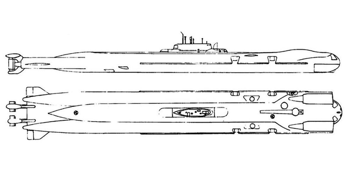 Submarino nuclear doviético do projecto 717