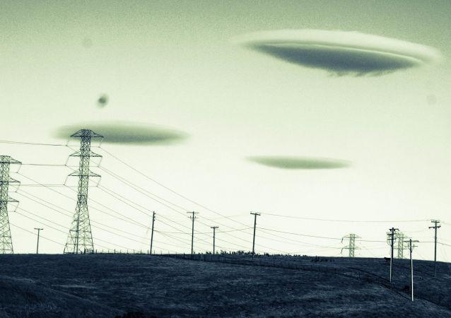 Discos voadores (imagem ilustrativa)