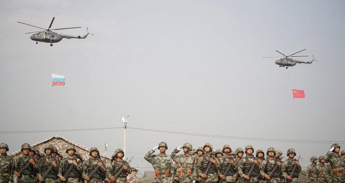 Exercícios antiterroristas da SCO em 2013