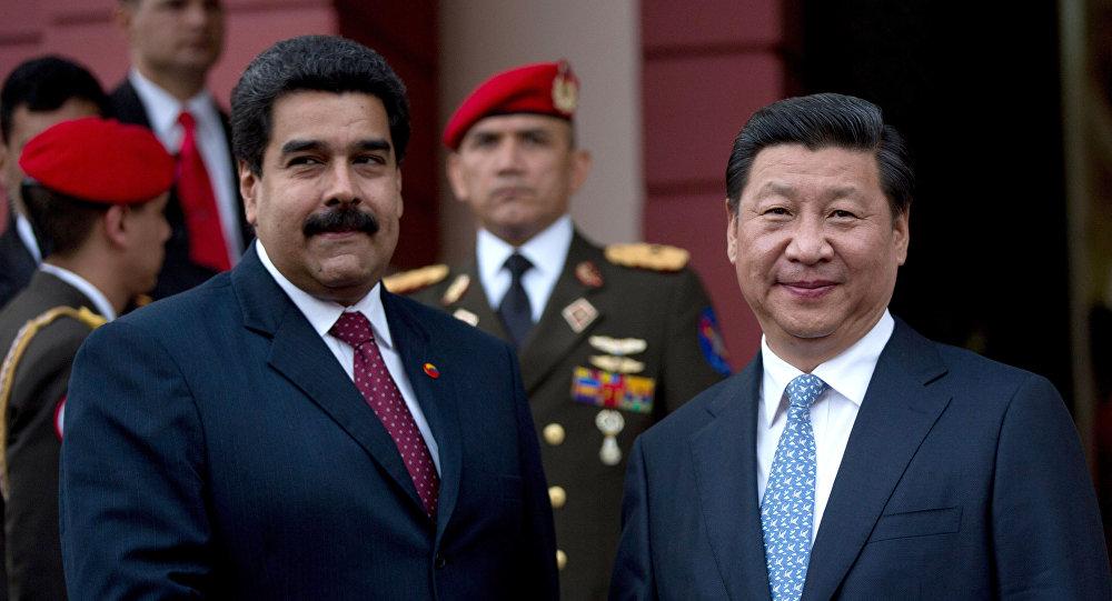 Presidentes da Venezuela e China, Nicolás Maduro e Xi Jinping