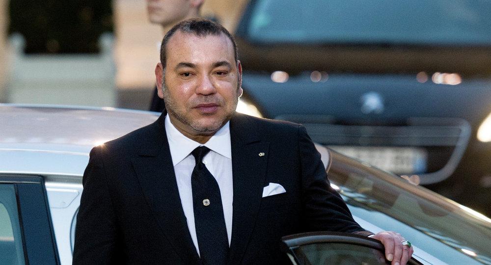 Mohammed VI, rei do Marrocos.