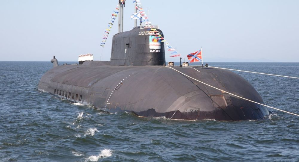 Submarino nuclear Omsk do projeto 949A Antei