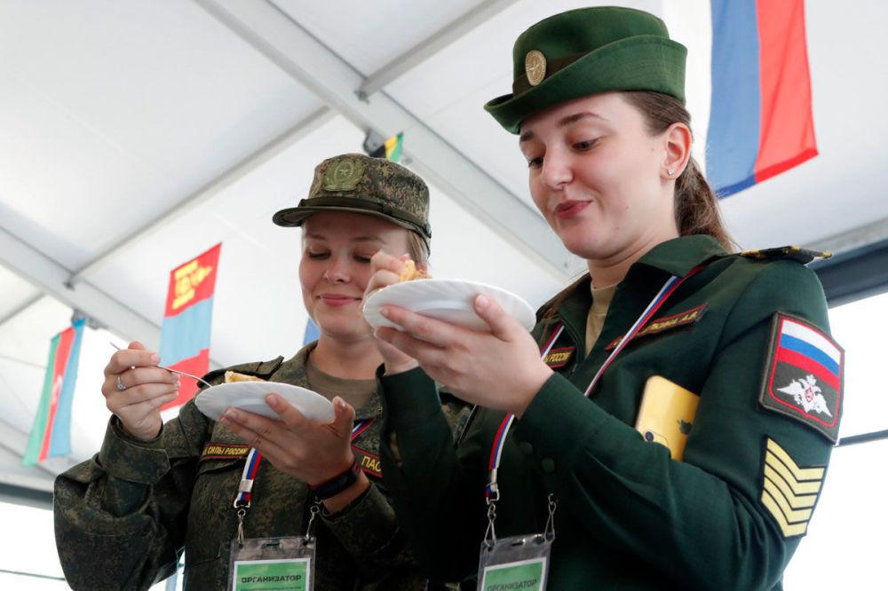 Segunda etapa do concurso Cozinha de Campo dos Jogos Militares Internacionais deste ano