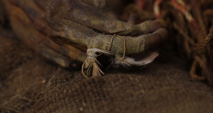Conservação da garota inca mumificada que retornou à Bolívia