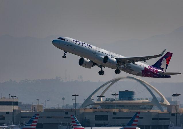 Airbus A321 da Hawaiian Airlines