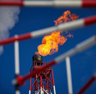 Uma planta de processamento de gás (imagem referencial)