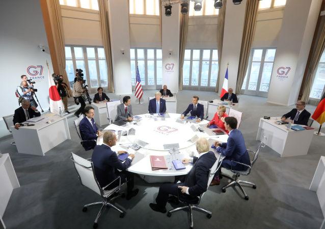 G7 em biarritz, França