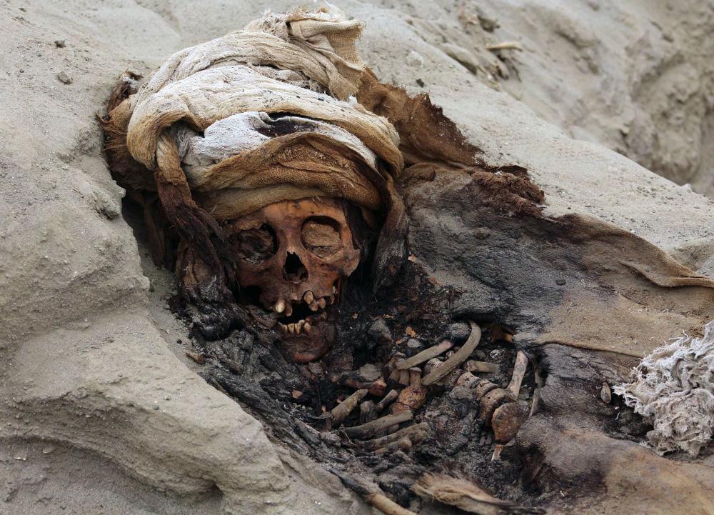 O lugar do maior sacrifício ritual em massa de crianças do mundo fica perto da cidade de Trujillo