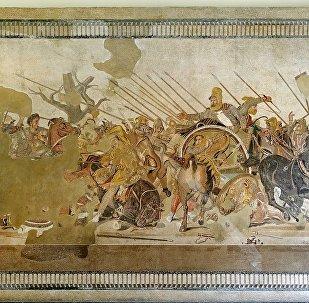 Mosaico de Alexandre em Nápoles