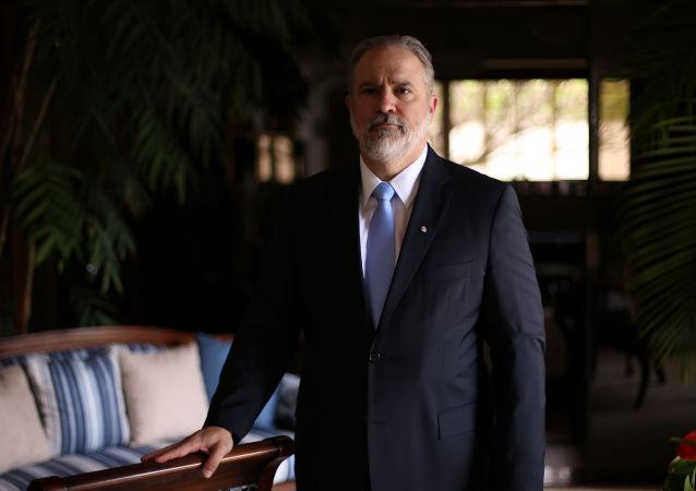 Subprocurador Augusto Aras, escolhido pelo presidente Bolsonaro para chefiar a Procuradoria-Geral da República