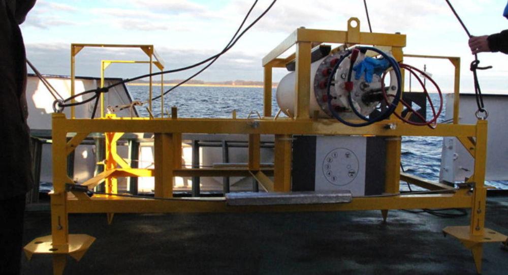 Motor do observatório Boknis Eck