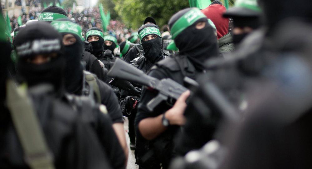 Militantes do Hamas em Gaza (arquivo)