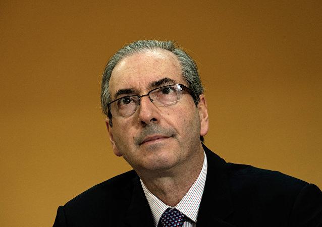 Eduardo Cunha, presidente da Câmara dos Deputados do Brasil
