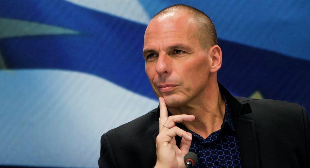 Ex-ministro das Finanças da Grécia, Yanis Varoufakis