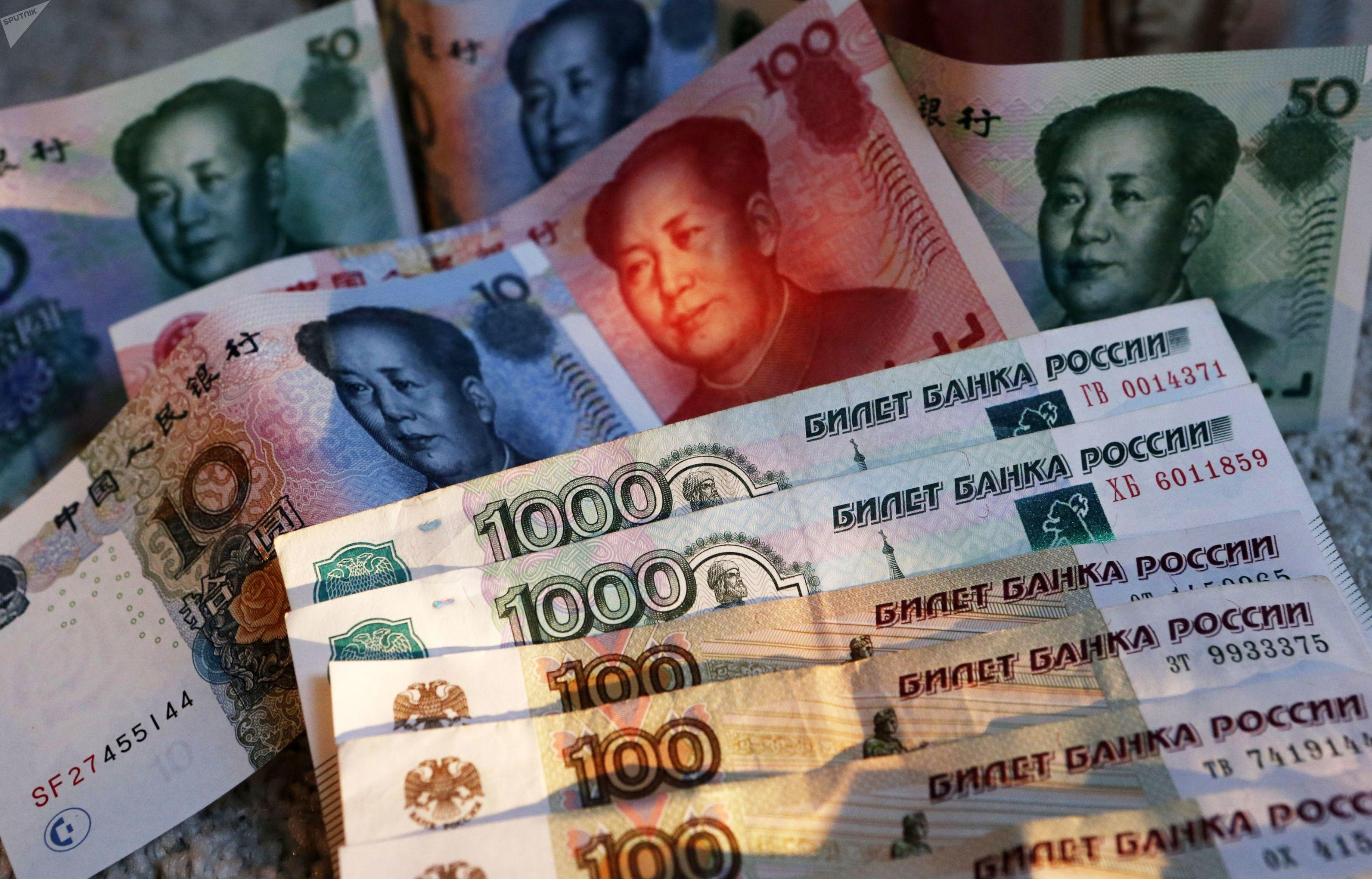 Rublo russo e yuan chinês: uma cesta de moedas locais pode ser utilizada para o comércio entre os países do BRICS, evitando o uso do dólar