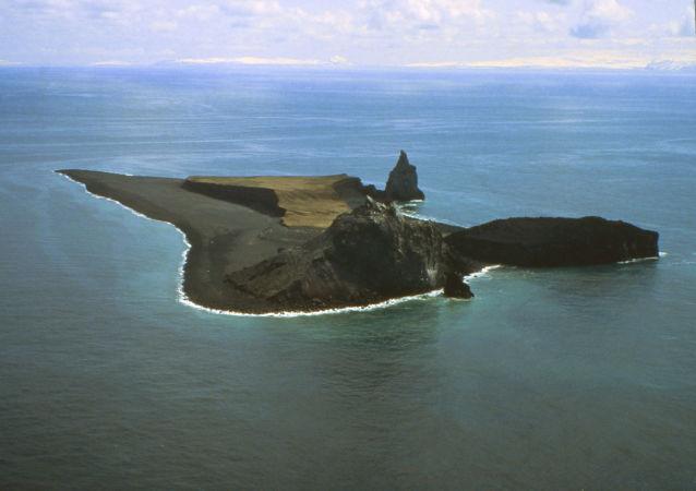 Vulcão subaquático Bogoslof
