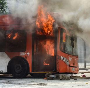 Novos protestos no Chile