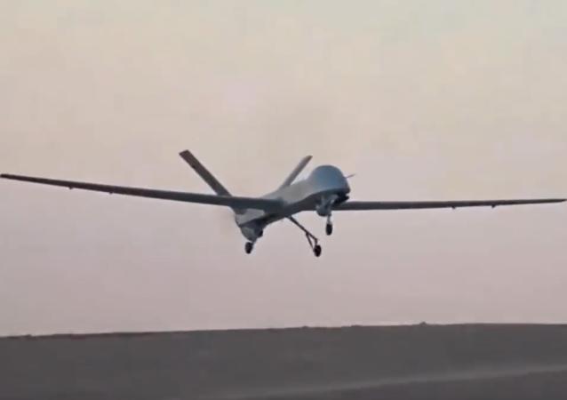 Drone americano Rainbow-4 UAV (imagem referencial)