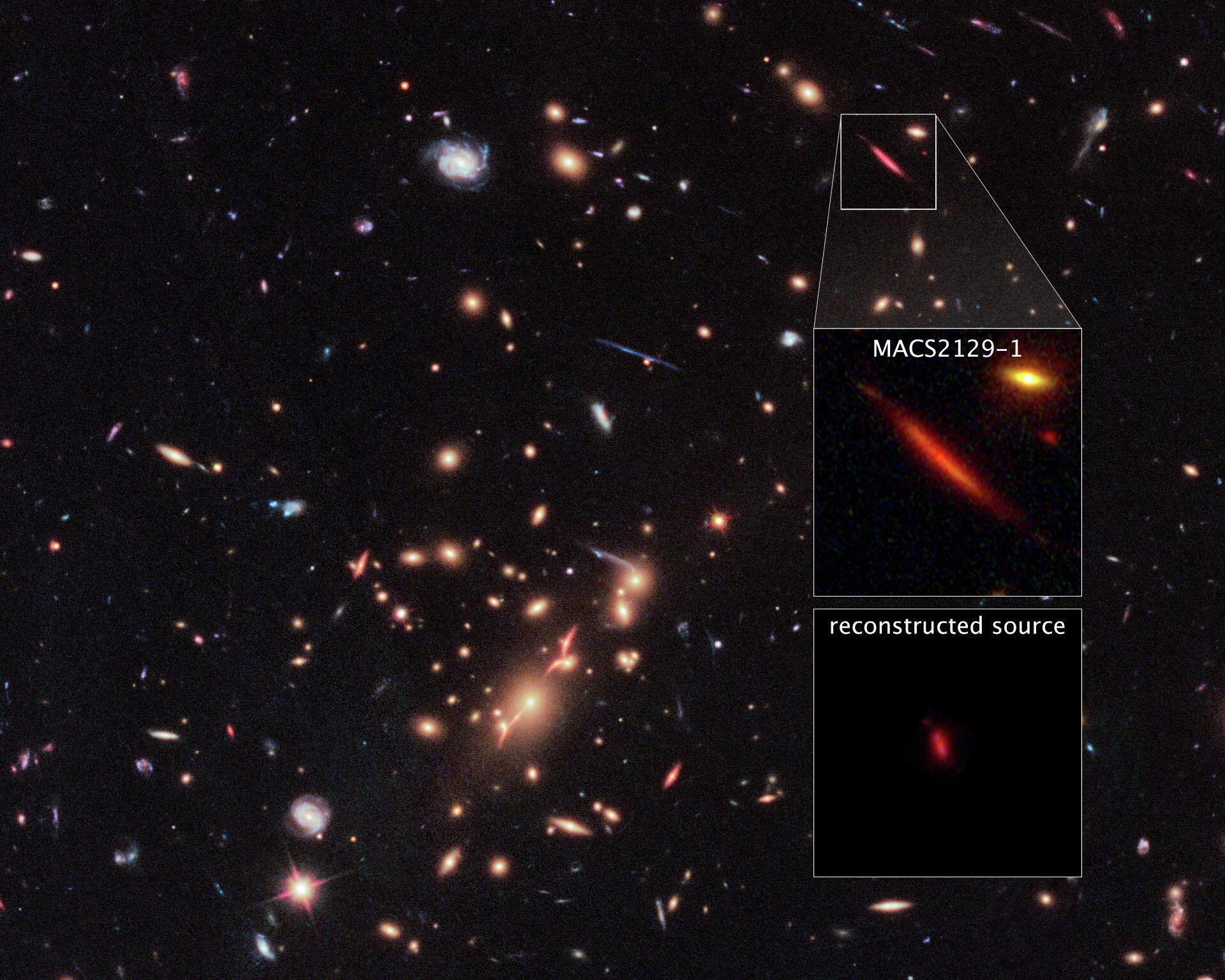 Galáxia morta MACS 2129-1