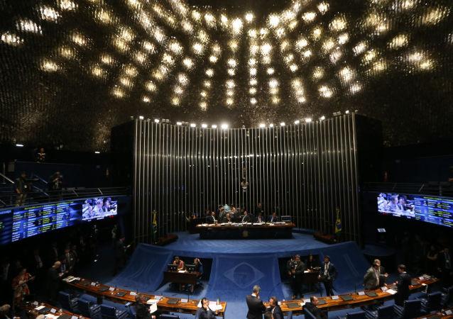 lenário do Senado Federal, em Brasília (DF).