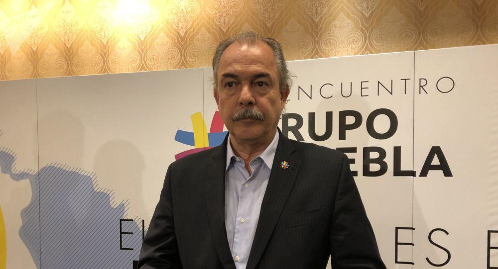 O ex-ministro Aloizio Mercadante.