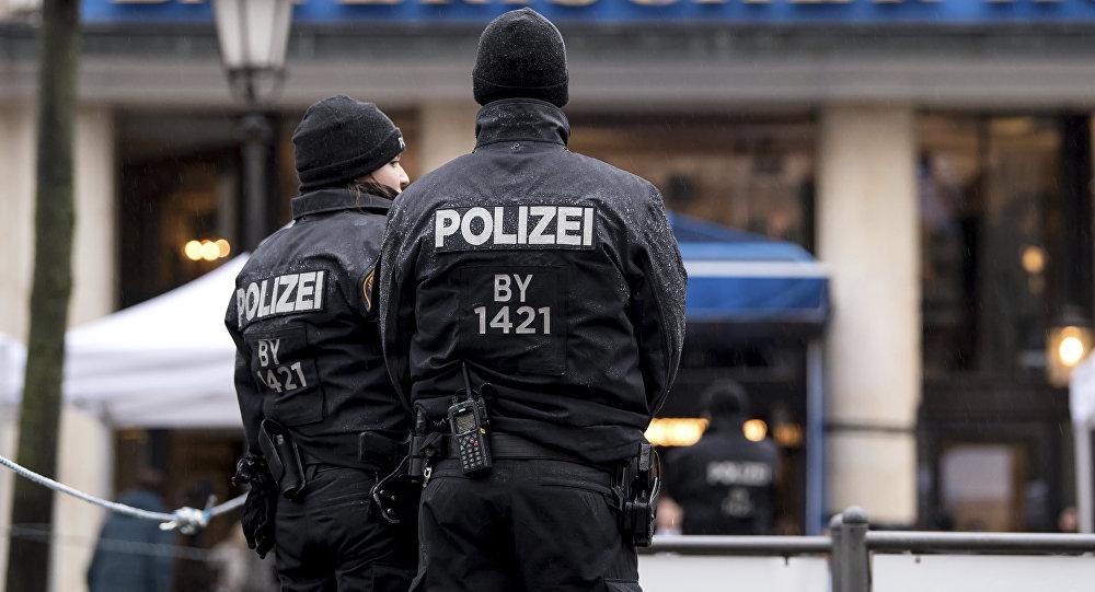Polícia da Alemanha (foto de arquivo)