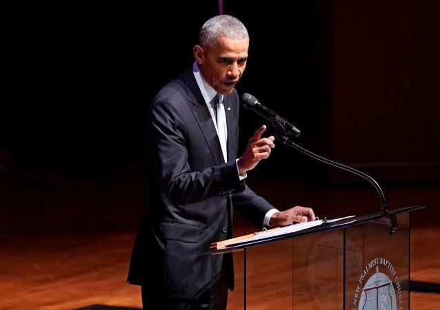 Ex-presidente dos Estados Unidos Barack Obama