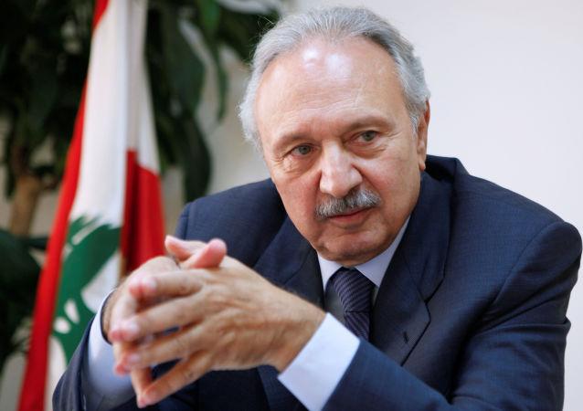 Ex-ministro libanês das Finanças, Mohammad Safadi