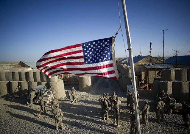 Soldados norte-americanos no Afeganistão