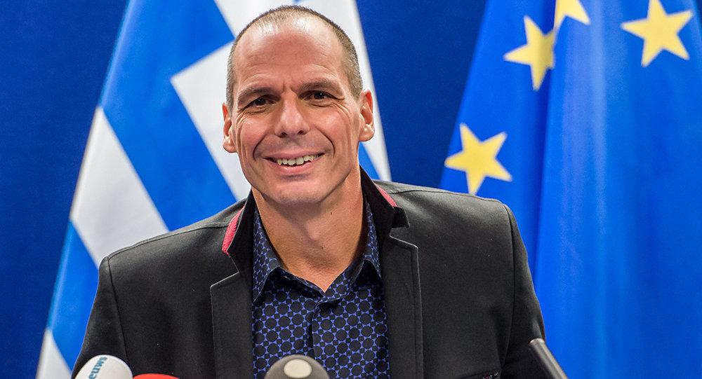 Yanis Varoufakis, ministro das finanças grego