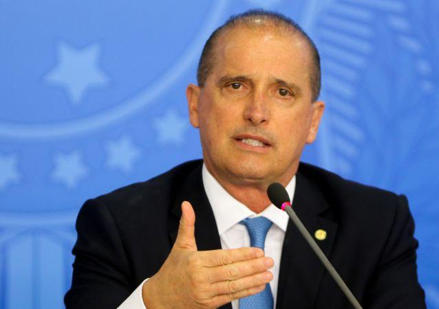 Ministro da Casa Civil Onyx Lorenzoni (foto de arquivo)