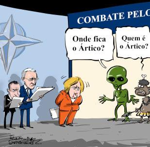 Sempre cabe mais um no Ártico para OTAN