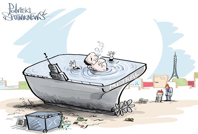 França prefere afundar quase 1,5 bilhão de euros