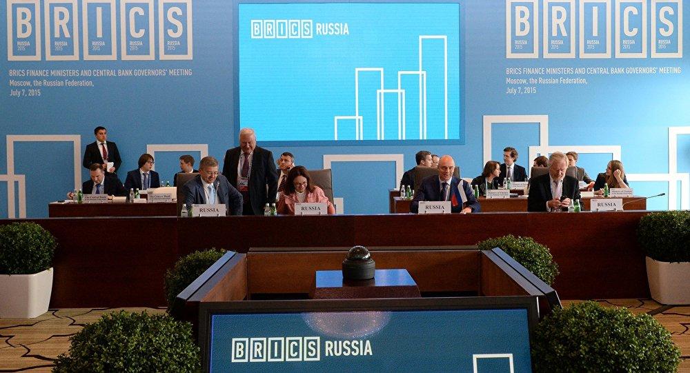 A reunião dos ministros das finanças e governadores dos bancos centrais dos BRICS