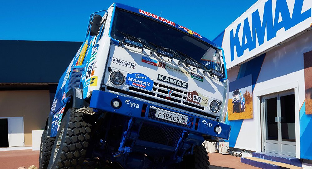 Caminhão russo Kamaz