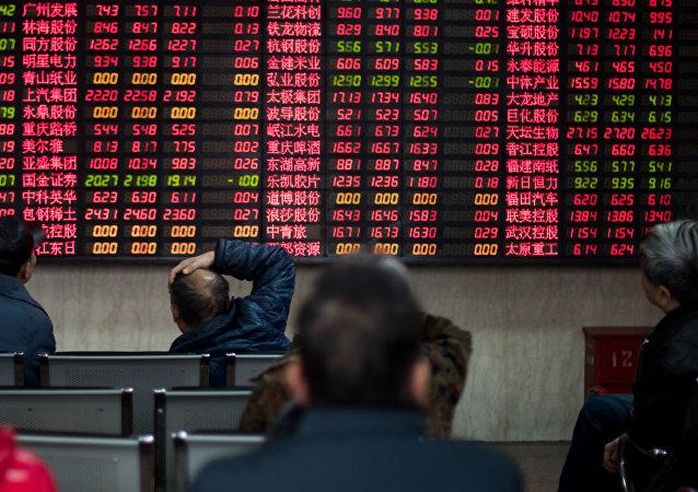 Bolsa de Valores de Xangai.