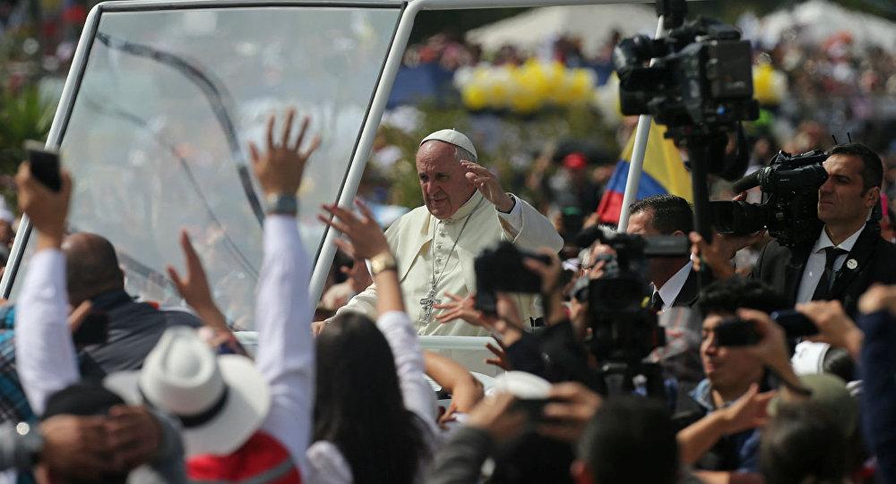 Papa Francisco, no Equador.