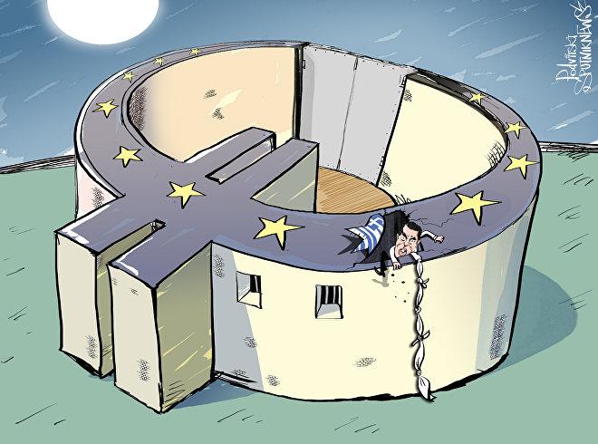 Grécia tenta escapar da 'prisão' europeia