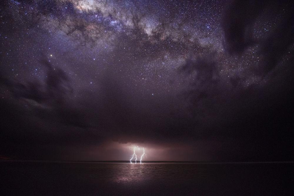 A foto de Julie Fletcher Calma antes da tempestade.