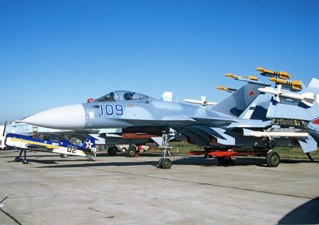 The Su-33 Flanker-D, a carrier-based warplane