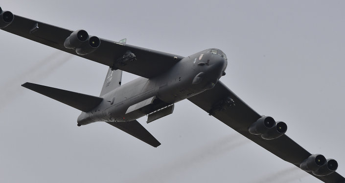 Bombardeiro B-52 da Força Aérea dos EUA