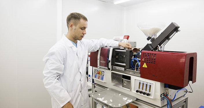 O novo produto de alta tecnologia, a cápsula Landysh (Lírio), deverá cobrir as necessidades dos serviços médicos nacionais na área da endoscopia