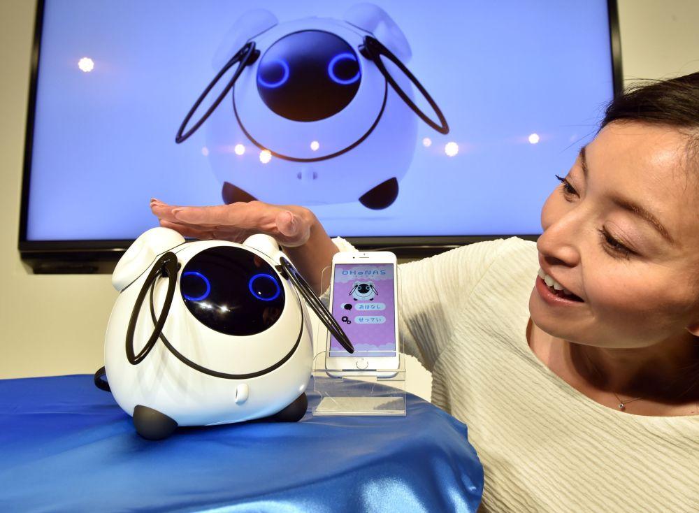 Robô-brinquedo japonês OHaNAS.
