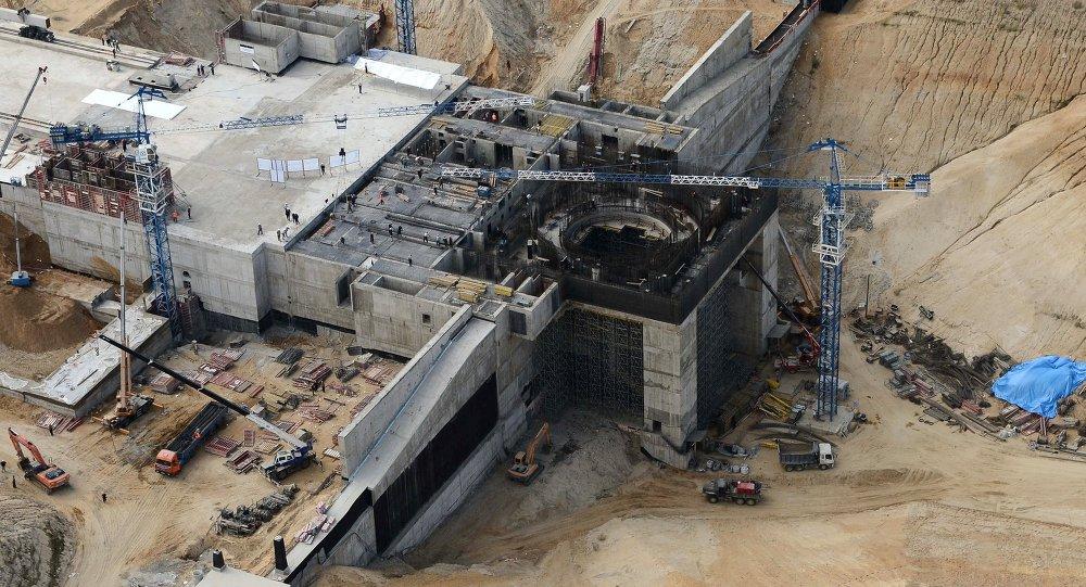 Construção do cosmódromo de Vostochny, na Região do Amur