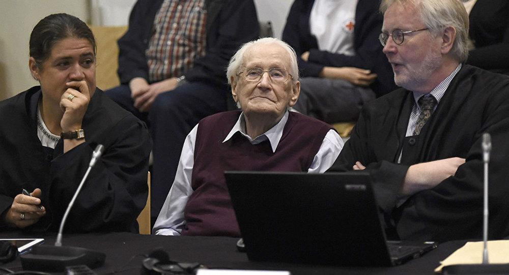 Oskar Groening, contador de Auschwitz.